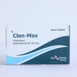 Clenbuterol 40mcg for sale