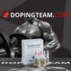 Androxine on dopingteam.com