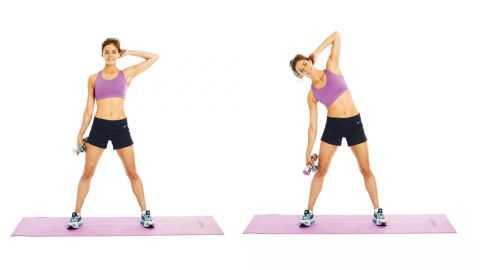 Full squat without detachment